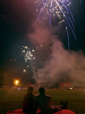 Cumberland Furnace Fireworks have become a Dickson County tradition on the Fourth of July.
