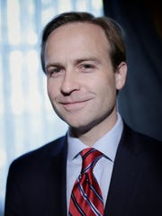 Republican Lieutenant Governor of Michigan, Brian Calley photographed at the Dearborn Inn on Thursday, October 29, 2015, in Dearborn, MI.