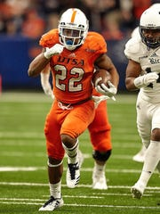UTSA running back Tyrell Clay rushed for a career-best 153 yards against Rice on Oct. 21.
