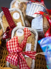 Baked goods at last year's cookie walk at Meadowbrook