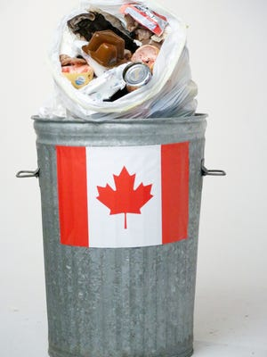 The amount of garbage imported into Michigan landfills from Canada rose 19% from Fiscal Year 2016 to Fiscal Year 2017, to the largest volumes seen in a decade.
