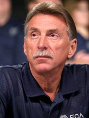 UAW Vice President Norwood Jewell at an event to mark