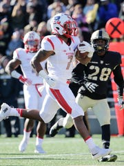 Despite Rutgers' struggles, tailback Robert Martin (7) provides serious punch on the ground. If he gets enough work.