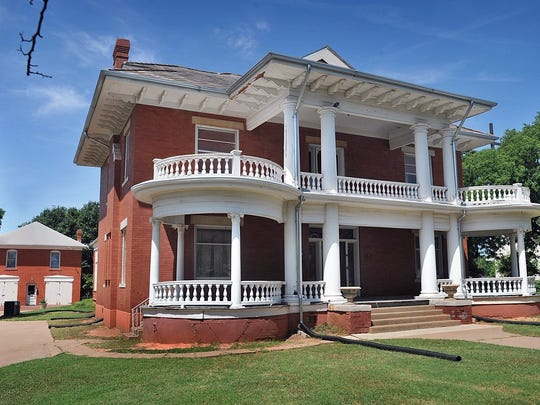The Kell House Museum, built in 1909, is the former