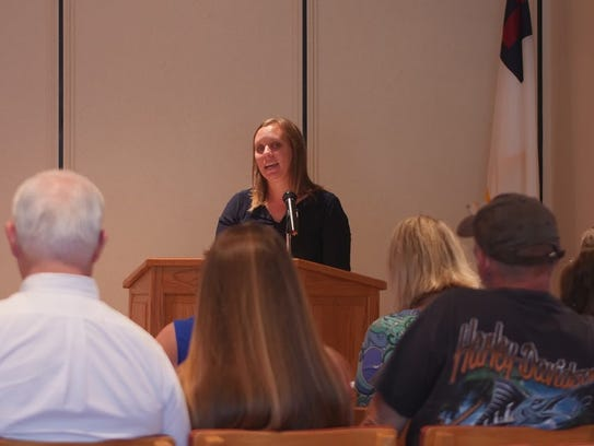 Guests heard inspiration from keynote speaker and local