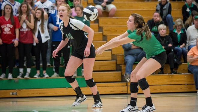 Yorktown defeated Bellmont Tuesday night during the Class 3A Regional game at Yorktown High School with a final score of 3-0.