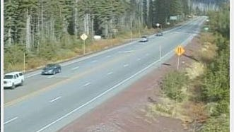 Traffic appears to be moving smoothly after a fatal crash on Highway 20