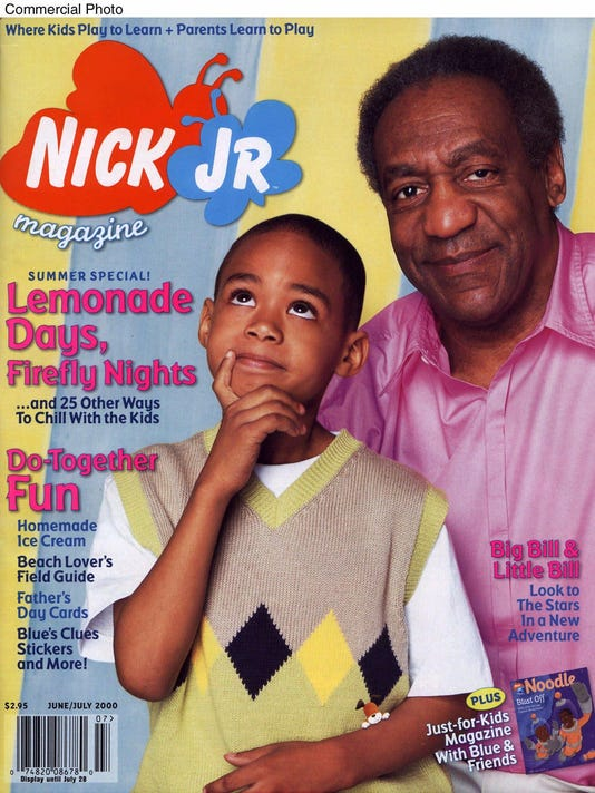 BILL COSBY ON THE COVER OF NICK JR. MAGAZINE
