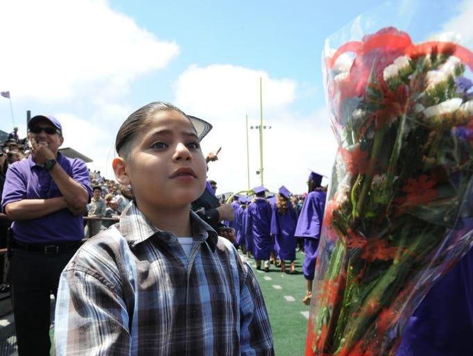 Imágenes de la ceremonia de graduación de la preparatoria
