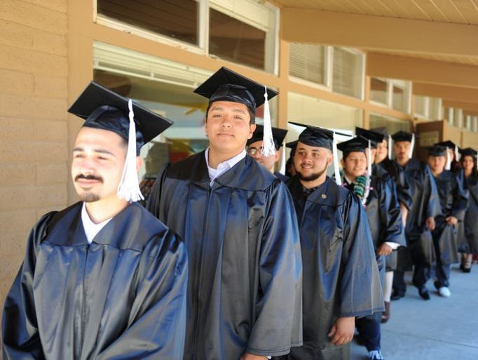 Graduados de Rancho cielo de la Academia de Construcción,