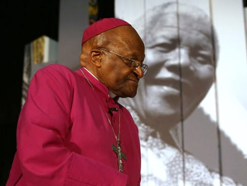 South African peace icon Desmond Tutu is to miss the burial of his friend Nelson Mandela, the archbishop's office amid allegations he was not invited for political reasons.