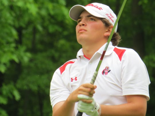 Bergen Catholic junior Will Celiberti was among North Jersey's leaders for lowest 9-hole scoring average.