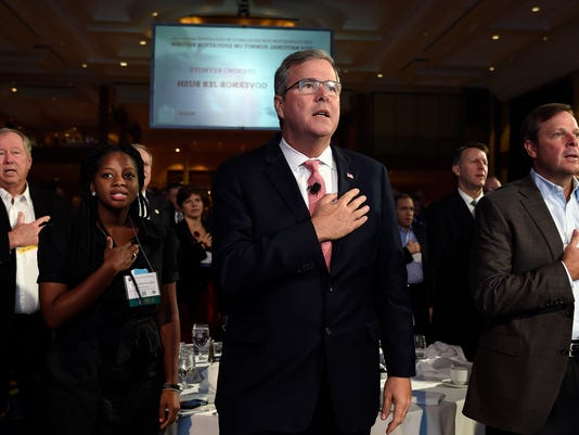 Jeb Bush, Denisha Merriweather