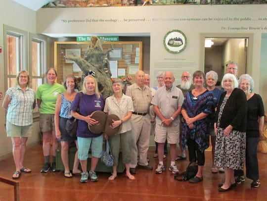 Friends of Bowie Nature Park meet for their monthly