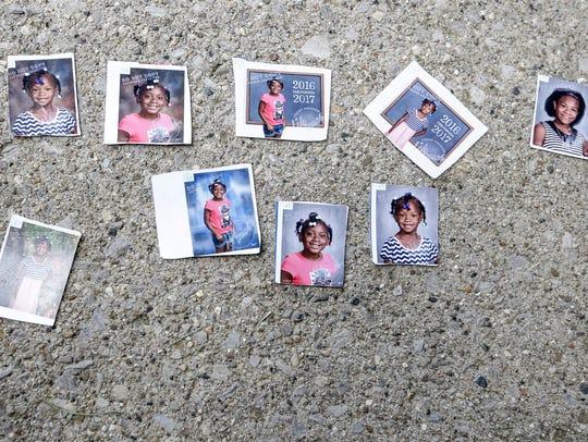 Photos of the four children - Keyana Davis, 11, Keyara