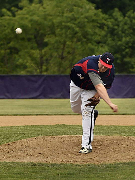 Austin Suders pitched a five-hitter against Mechanicsburg in Chambersburg's 6-2 win Thursday.