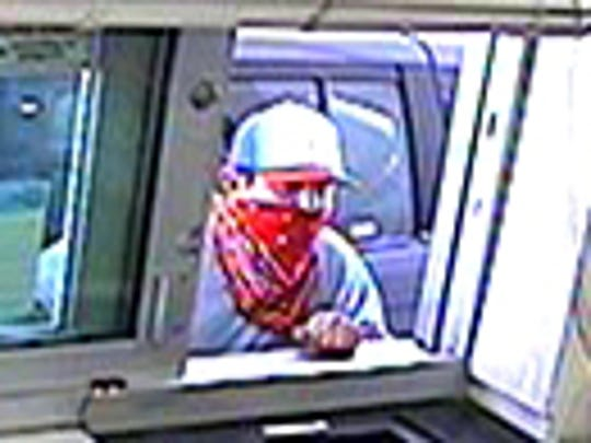 A suspect wanted in the robberies of area pharmacies.