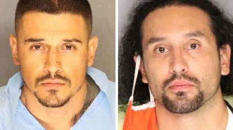 Daniel Miranda-Lick, 27, and Alonzo Fabian Talavera, 31, have been  arraigned in San Joaquin County Superior Court on suspicion of conspiracy to commit robbery and attempted robbery.
