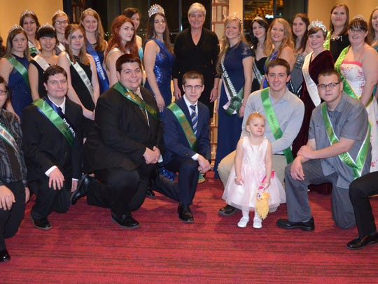 The photo is of New Jersey's Agriculture Ambassadors