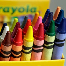 Crayola is retiring one of its iconic colors on National Crayon Day