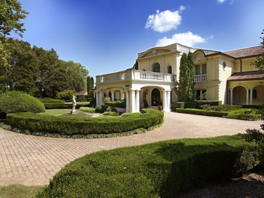 Villa Collina, is a 37,000 square foot waterfront residence