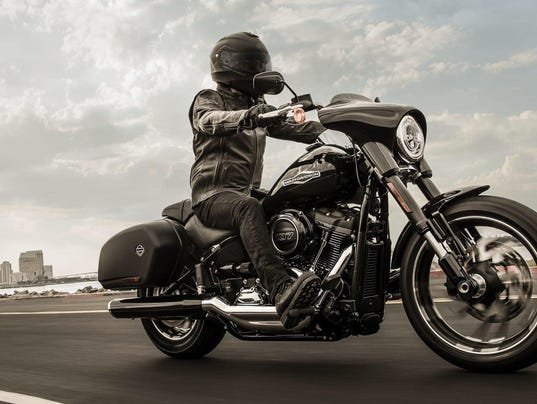 Harley-Davidson's new Sport Glide is a touring cruiser