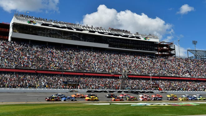 NASCAR's Sprint Cup season will kick off - as always - with the Daytona 500 in February.