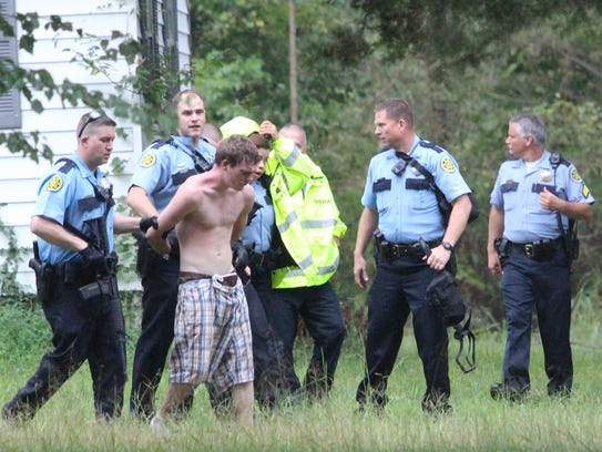 Montgomery County Sheriff's Office deputies lead Christopher