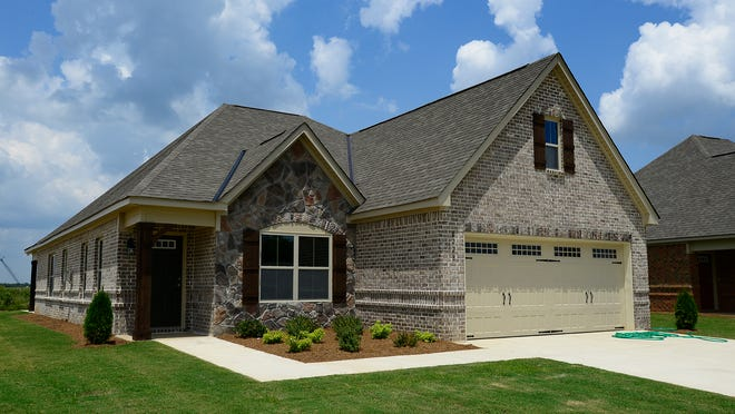 The Ryan Ridge development has a variety of home sizes and lots.