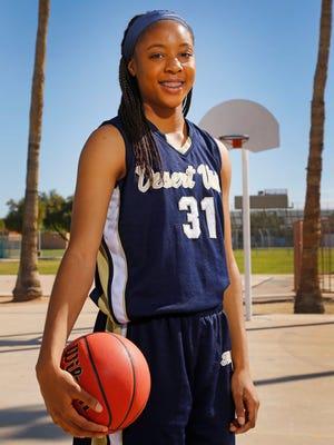 Phoenix Desert Vista's Kristine Anigwe is azcentral sports' 2014-15 girls basketball Big Schools Player of the Year.