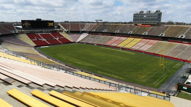 Local health officials believe Iowa State University athletics department may be the reason why Story County's COVID-19 numbers are on the rise. Tribune file photo