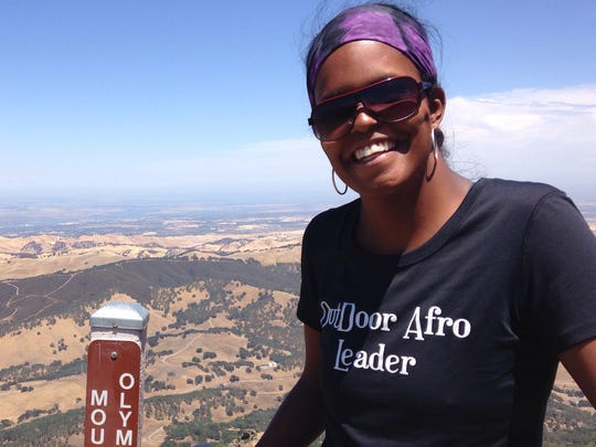 Zoe Polk is a San Francisco-based national program director for Outdoor Afro, a group that encourages people of color to engage in outdoor recreation.