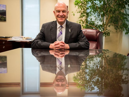 David Belcher has been the chancellor of Western Carolina University since 2011.