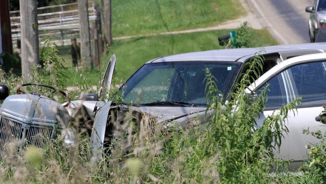 A truck-tractor collision occurred Saturday on North Centerville Road in Sherman Township The driver of the tractor was airlifted to Bronson Methodist Hospital following the crash, which remains under investigation.