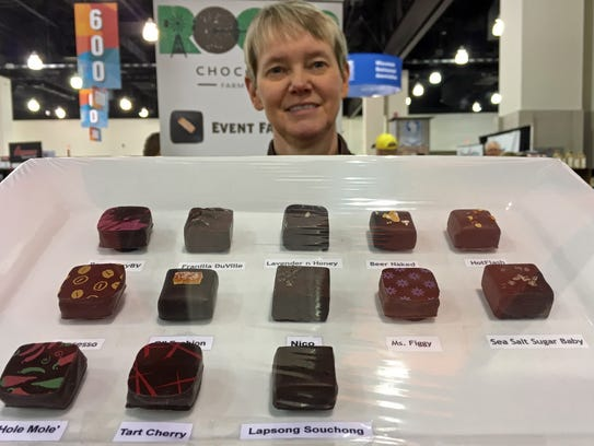Lisa Nelson infuses many of her ROOTS chocolates with