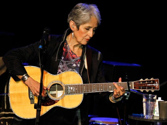 Joan Baez Four Voices Tour
