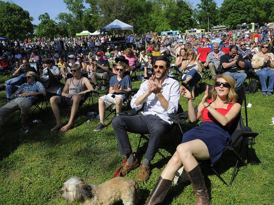 The weekly family-friendly, dog-friendly Musicians Corner lawn parties take place noon-5 p.m. Saturdays in the front of Centennial Park.