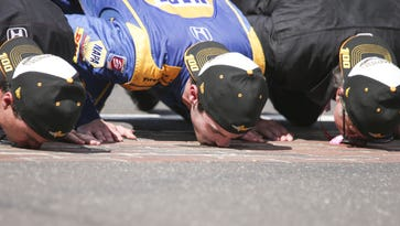 Doyel: Out of gas, full of tears; Rossi's almost impossible Indy 500 victory