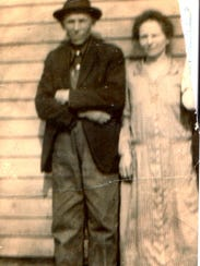Betty Chirhart's father, Albert Sufka, with his sister