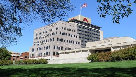 Drugmaker Eli Lilly and Co.'s headquarters are in Indianapolis.