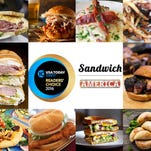 Vote for your favorite iconic American sandwiches, state by state.