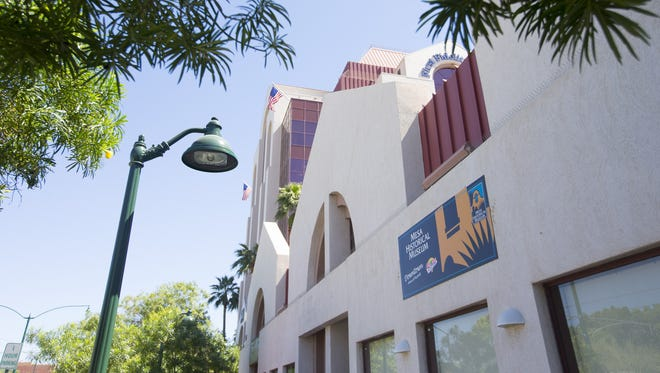 The Mesa Historical Museum has been operating out of a temporary location at 51 E. Main St. in downtown Mesa since 2012.