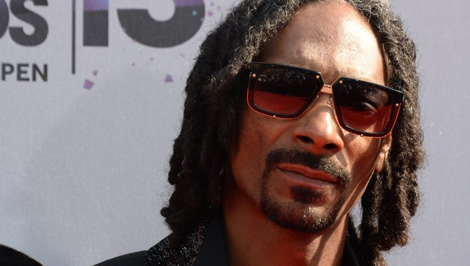 Rapper Snoop Dogg.