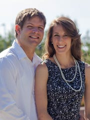 Pictured is Brant Wells and Cait Cavanagh.