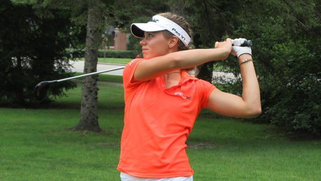 Julia Dean of Brighton reached the quarterfinals of the Michigan Women's Amateur Championship with a 1-up victory over Danielle Staskowski of Clarkston before losing 3-and-1 to Aya Johnson of Muskegon.