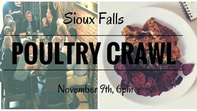 Poultry Crawl logo