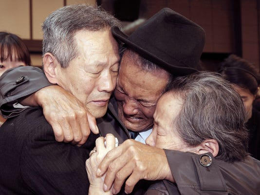 AP KOREAN FAMILY REUNIONS I FILE PRK