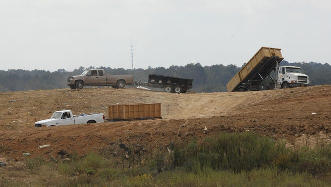 Owners of the Faircloth Rubbish Landfill want to expand their landfill by 26 acres.