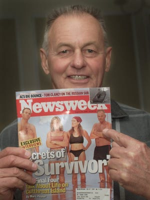 Rochester's Rudy Boesch made the Aug. 28, 2000, cover of Newsweek magazine while competing on the first season of 'Survivor.'