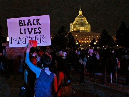AP POLICE SHOOTINGS PROTESTS A USA DC